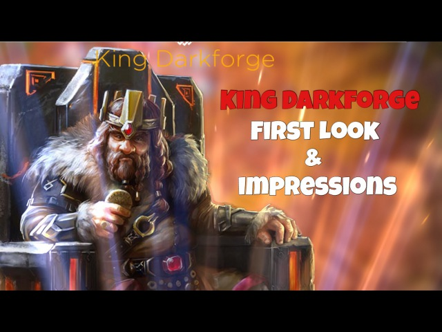 Rival Kingdoms | King Darkforge | First Look and Impressions