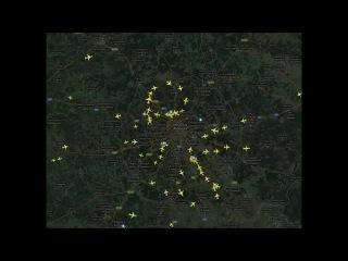 Пробки в небе над Москвой. Россияне возвращаются с новогодних каникул
