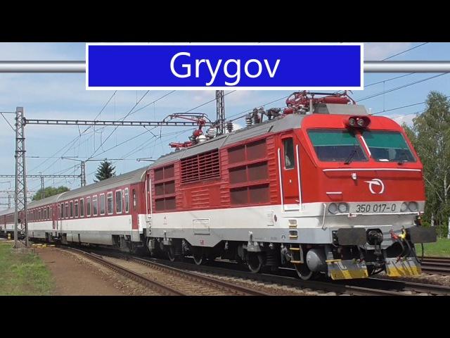 Vlaky - Grygov - 21.7.2016