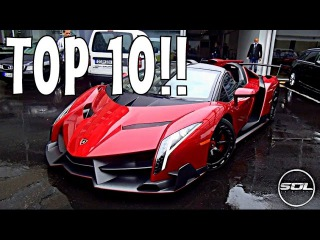 THE 10 BEST SUPERCARS SPOTTED IN 2015!!