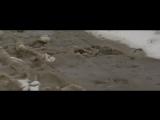 Каша на подъёме в гору. Глубоко, мокро, холодно :)