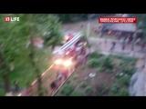 Студентов общежития в Москве эвакуировали из-за пожара