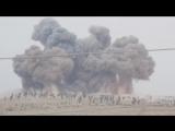Авиаудар Российских ВКС в провинции Идлиб. Сирия.