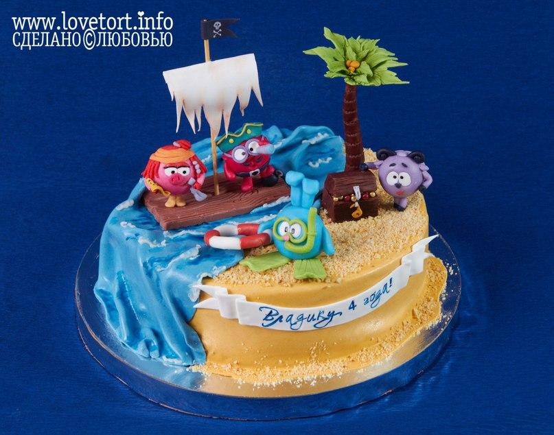 Торт на заказ в острове