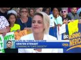Kristen Stewart Talks Cafe Society