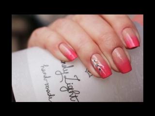 ♥♥♥НЕЖНЫЙ ВЕСЕННИЙ маникюр ГРАДИЕНТ♥♥♥Gradient Nails♥♥♥