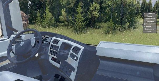 Renault Magnum 10x10 для Spintires - Скриншот 1