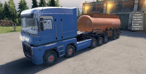 Renault Magnum 10x10 для Spintires - Скриншот 2
