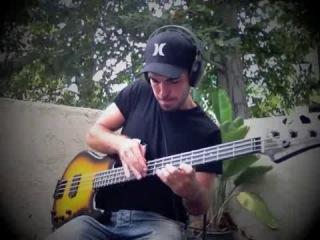 Крутое соло на бас-гитаре - видео ролик смотреть на Video.Sibnet.Ru
