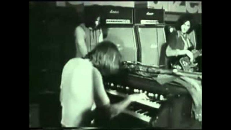 Jon Lord on Hammond organ
