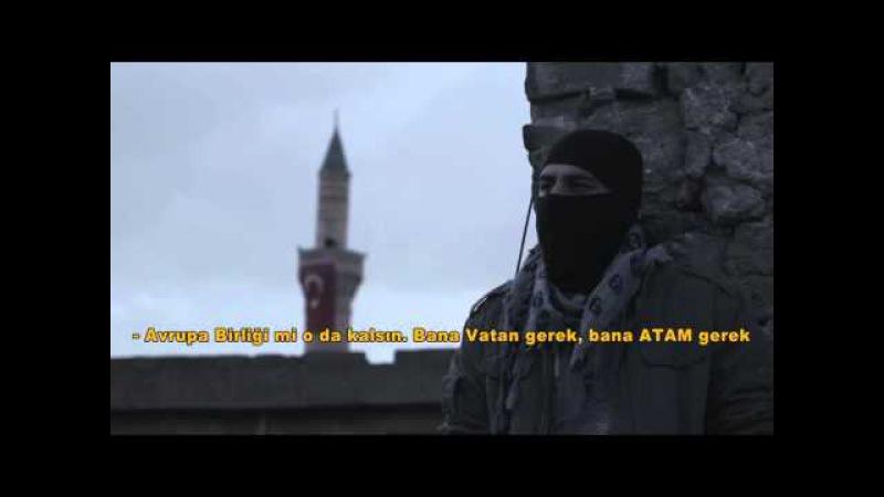 Sur sokaklarında Rapçi polis'den 'Yalnızım Atam Sur Şehitlerimiz Anısına '