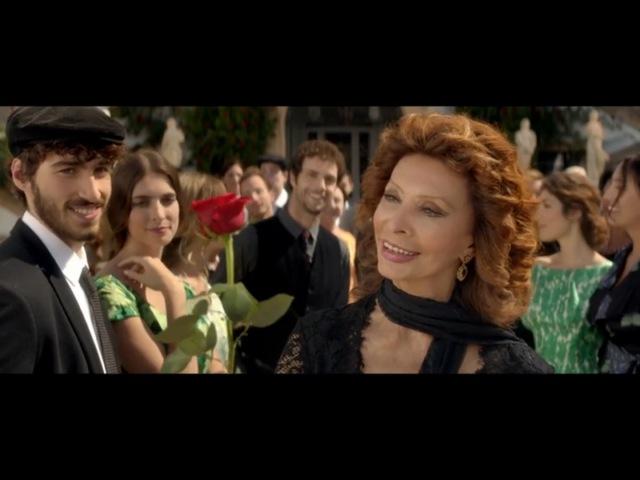 Софи Лорен в рекламе Dolce Gabbana