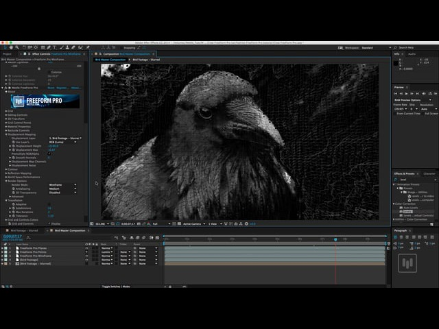 Transform Basic Footage into a Layered Mix of 3D Renders   After Effects   FreeForm Pro