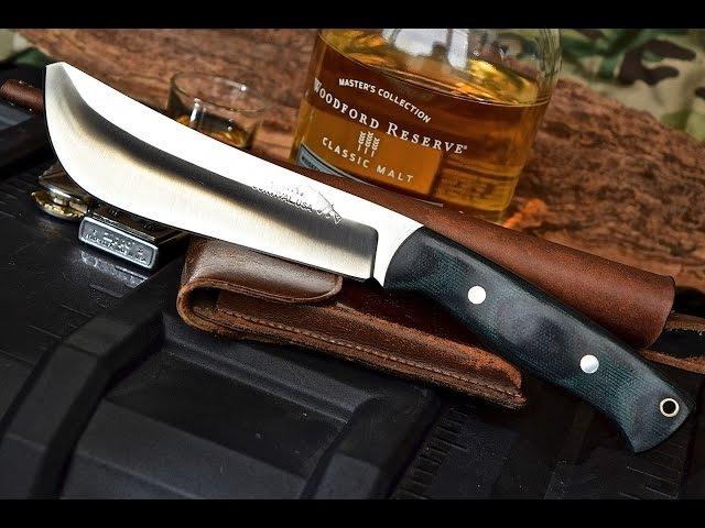 CFK Knives USA iPak Survival Custom Handmade D2 Bolo Machete Review
