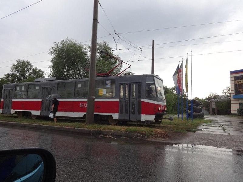 Транспортный коллапс на Салтовке (ФОТО)