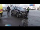 В ДТП на юге Москвы опрокинулась скорая помощь