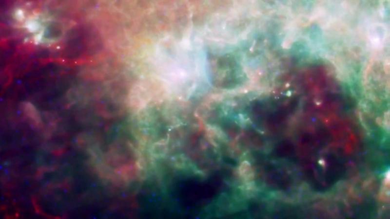 Скрытая Вселенная. Разные виды Млечного Пути. Косми́ческий телескóп «Гершель»