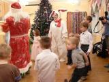 Новогодняя елка в детском саду. Танец с Дедом Морозом