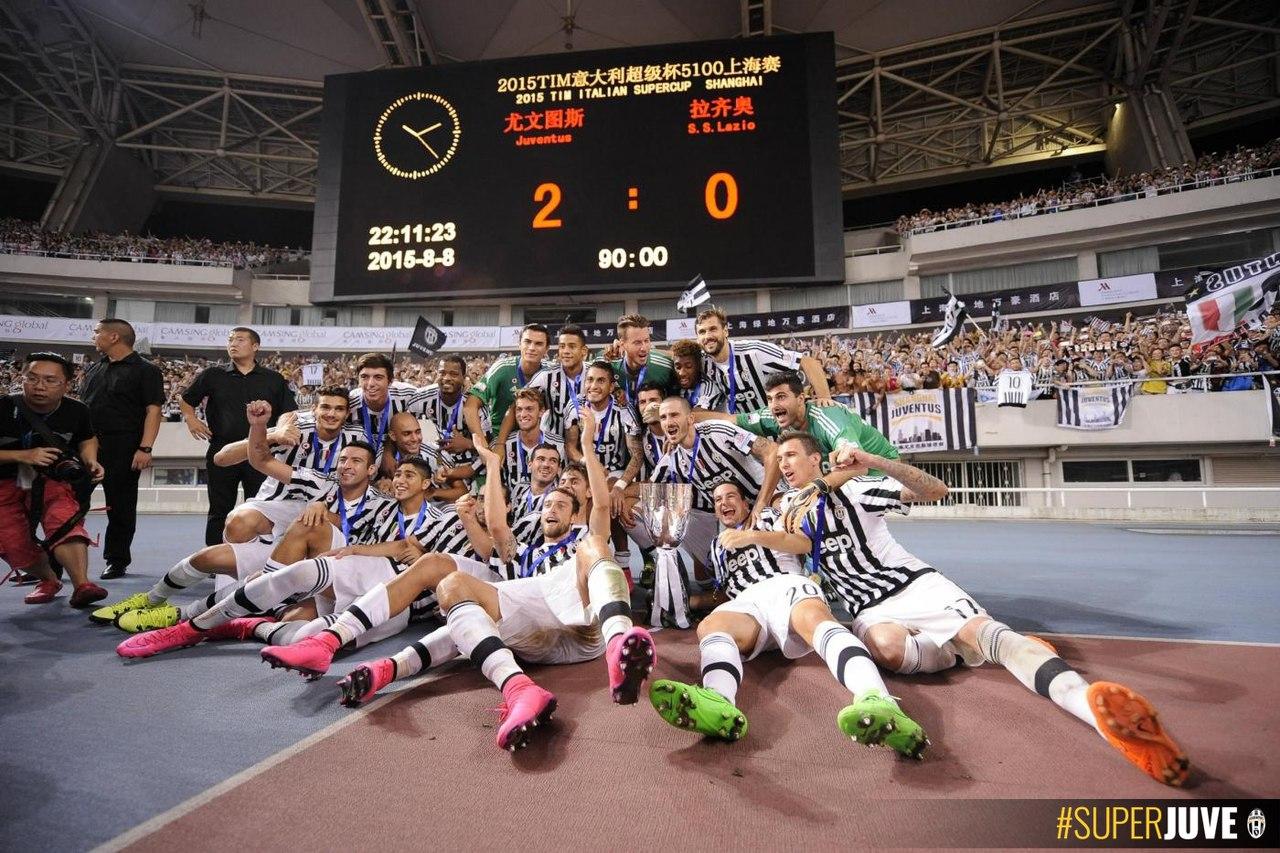 Суперкубок 2015. Юве - Лацио