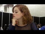 Интервью Джейн в пресс-рум на «NYCC 2012» о фильме «Зловещие Мертвецы» #1 (13.10.12)
