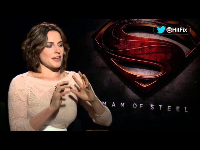 Man Of Steel - Antje Traue Interview