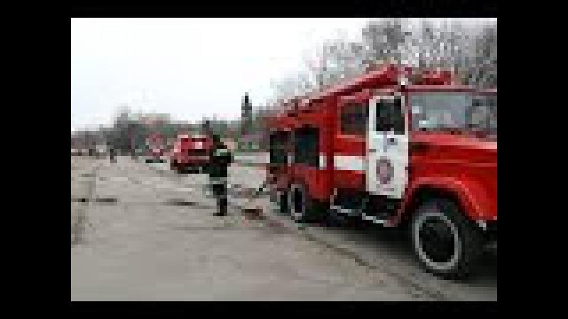 Рятувальники провели тактико-спеціальні навчання з гасіння умовної пожежі