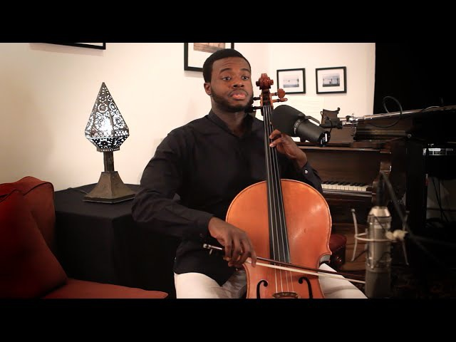 Prelude from Bach Cello Suite No.1 - Kevin Olusola
