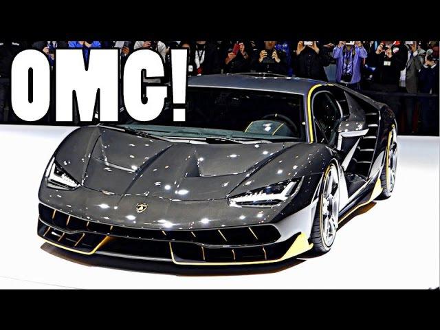 THE BEST SUPERCARS HYPERCARS @ GENEVA MOTORSHOW!!