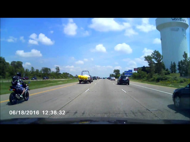 Motorcycle Accident MN I 94 East Bound 6/18/2016