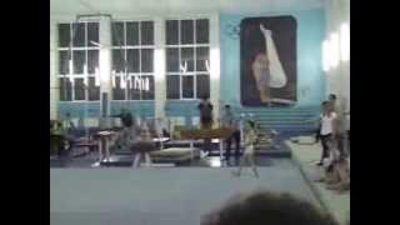 1-й юношеский Спортивная гимнастика. 8,5 лет. Динамо - Харьков.