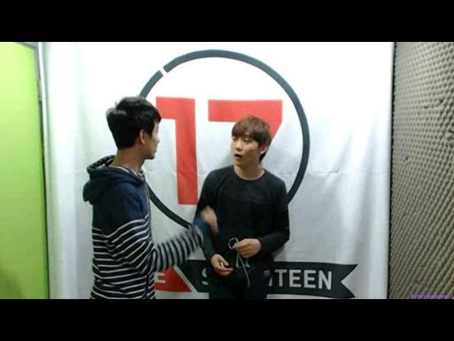 131011 SEVENTEEN TV Seungkwan and Seokmin's Quarrels in Cam 9