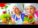 Сладкие радости с Настей и Ксюшей Грушевый Ёжик рецепты для детей Развивающи