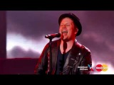Fall Out Boy - Uma Thurman - Jimmy Kimmel Live! 2015 HD