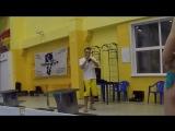 Игра на трубе Наяда