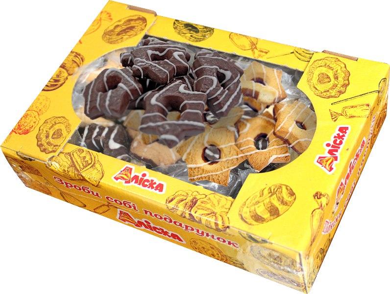 Печиво Зірочки, Аліска, 500 г
