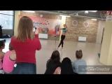 Показательное выступление в спортивном клубе ЕвроФитнес(импровизация)