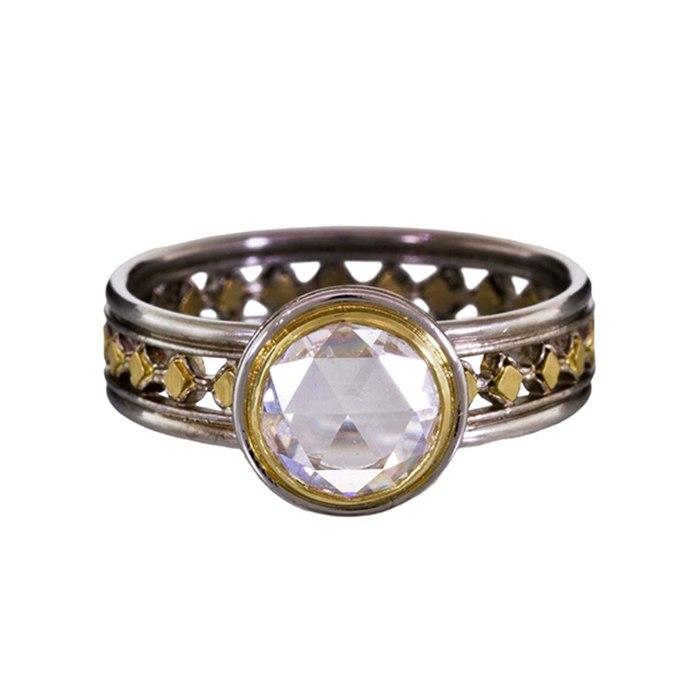 ARtIKcCf2H4 - Мультиметаллические  обручальные кольца (35 фото)