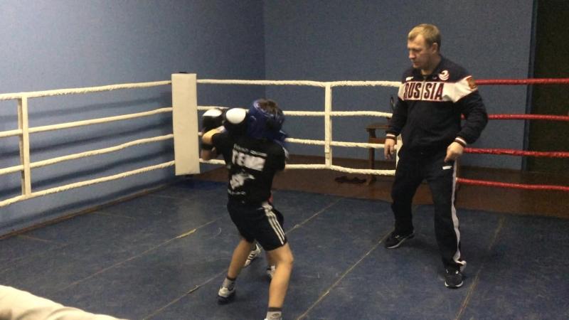 Плотников Р vs Майданников В vs Стрюков Д. бокс до 30кг