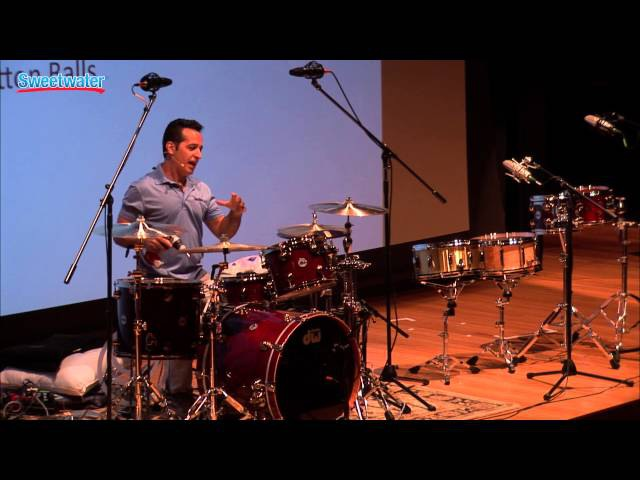 Make Your Drums Sound Great with Nick DVirgilio at Sweetwaters Gearfest 2015