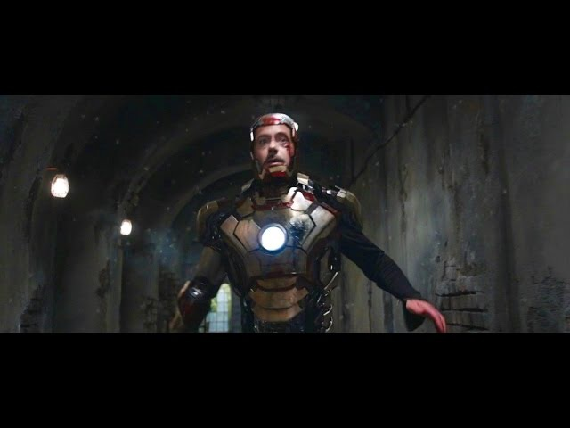 Every Iron Man Transformation/Suit Up Downs HD