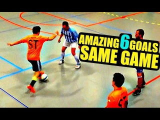 Perfect Skills | SkillTwins 6 Amazing Futsal Skill Goals In Same Game! ★
