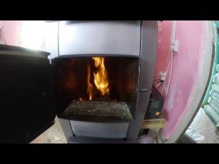 Как топить твердотопливный котел длительного горения Galmet