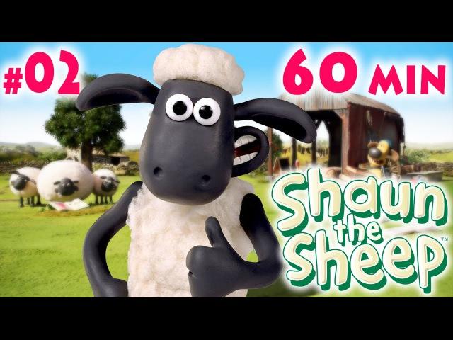 Барашек ШОН 1 сезон, 11-20 серия 02 | Shaun the Sheep season 1 One Hour ʕ•͡ᴥ•ʔ 02, 60 min