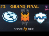 GRAND FINAL EG vs MVP , Game 2 | Dota Pit Lan Finals (20.03.2016) Dota 2