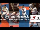 Aghayev, Busa, Horuna and da Costa in a Karate legends special