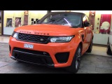 LAND ROVER RANGE ROVER SPORT SVR - REVIEW and driving 2016 HQ