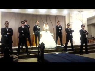 Корейская свадьба, хорошо станцевали