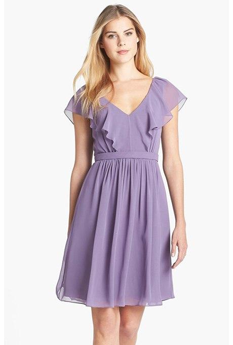 1y9Cf6GsMWc - Прекрасные платья цвета лаванды для подружек невесты на каждый сезон