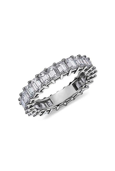 k4S82m261kk - Свадебные обручальные кольца с вечным дизайном