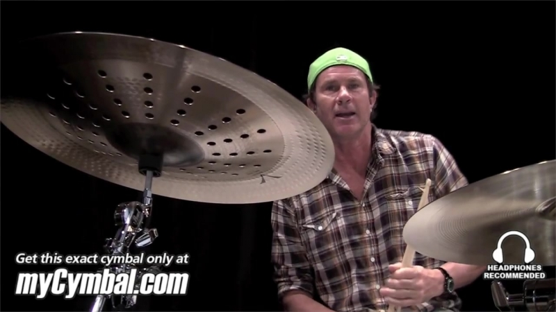 """Sabian 21"""" AA Holy China Cymbal - Natural - Played by Chad Smith (CS2116-1041212B)"""